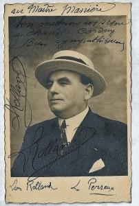 15 - Léon Rolland, metteur en scène