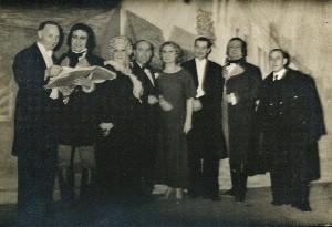 4 - Sur scène, Schuyer, Cabanel, Bernadet, Tiberty, Nespoulous, Manière, Micheletti, Renard