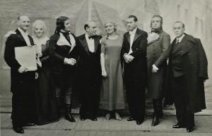 5 -  Sur scène, Schuyer, Bernadet, Cabanel, Tiberty, Nespoulous, Manière, Micheletti, Renard