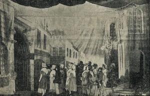 7 - Acte 1, la foule des fidèles devant l'eglise Saint-Jean