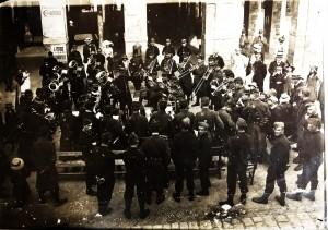 19 - 1913-1914 avant la Guerre. Environs de Rennes. Concert du 115e RI de Mamers