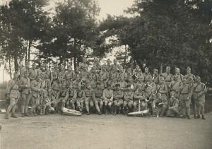 34 - Juillet 1927 Musiciens du 39e RI et du 129e RI réunis