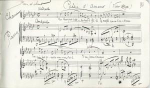 Carnet de mélodies p.93