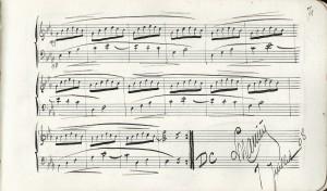 Carnet de mélodies p71