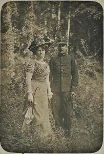 Léon Manière et Berthe Charles - 1909