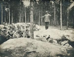 Musique dans les tranchées 1915
