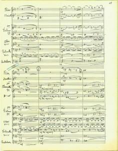 VDC - Partition d'orchestre - P15 - A4